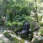 Paths to Waterfalls and Ponds at Giberson Garden