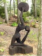 Gladys Sculpture at Azalea Path